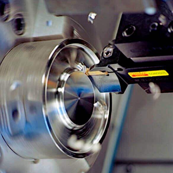 Toczenie CNC Stali nierdzewnej